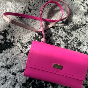 Pink leather Kate Spade wallet